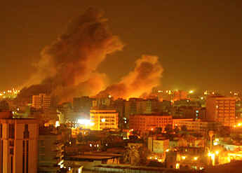 baghdad is burning