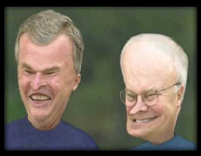 """""""heh heh.... you said bush"""" --- """"heh heh... you said dick"""""""