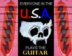 EVERYONE IN THE USA PLAYS THE GUITAR